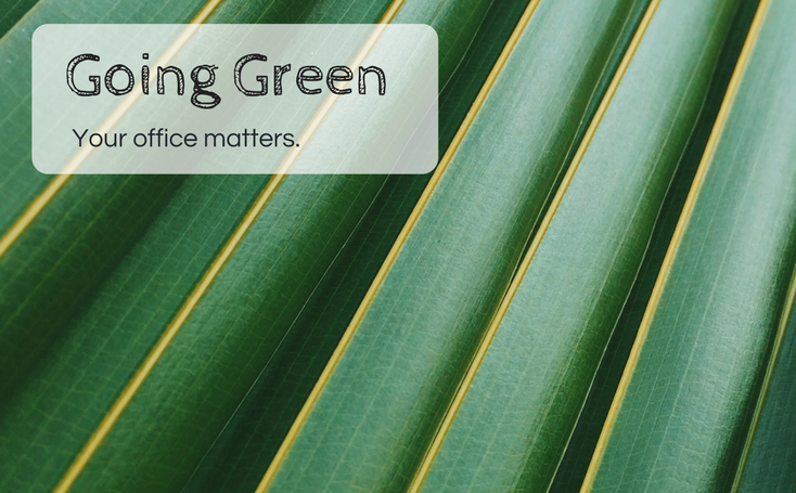 Going Green -- Your Office Matters