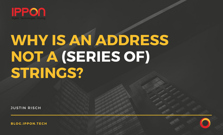Why is an Address NOT a (series of) Strings?