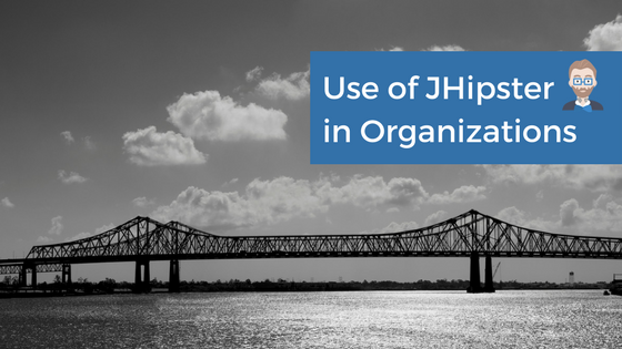 Use of JHipster in Organizations