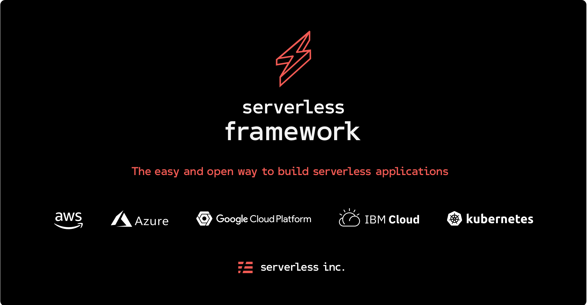 First steps with the Serverless Framework
