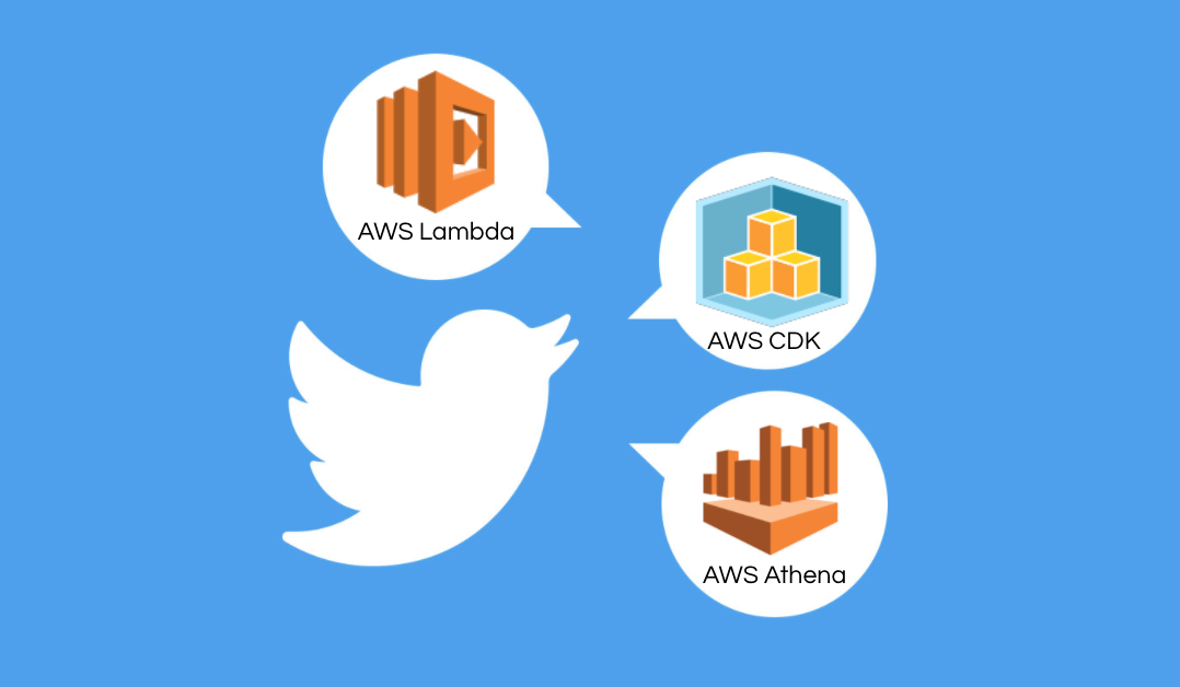 Saving and Analyzing Trending Topics on Twitter using AWS Athena, Lambda, and CDK