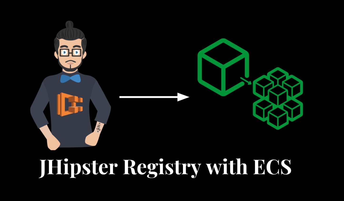 JHipster Registry with ECS